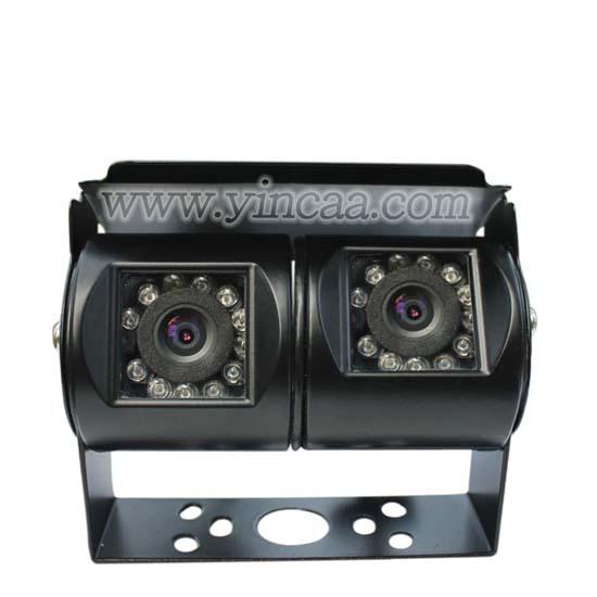White Color Dual Lens Rear Camera