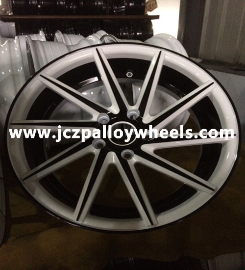White Machined Face Cvt Alloy Wheels 19x8 5