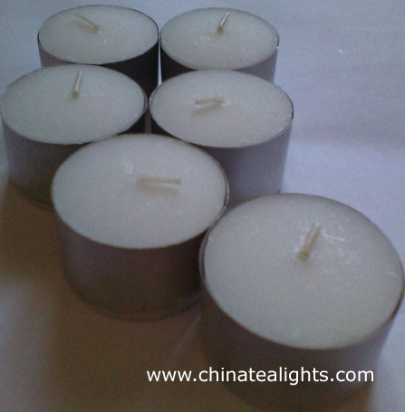 White Unscented Tealight Candle Long Burning Hour And Clean
