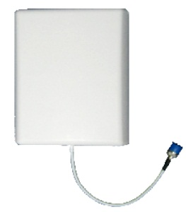 White Wall Mounted Antenna With Bracket
