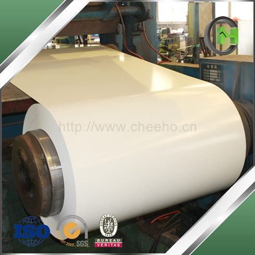 Whiteboard Steel Used Galvanized Prepainted Rolls With Pvdf Coating