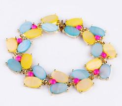 Wholesale Alloy Hinged Bracelet Metal Stretch Bracelets