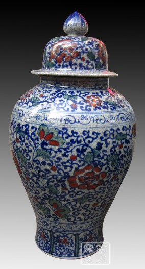 Wholesale Blue And White Porcelain General Jars