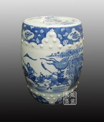 Wholesale Blue And White Porcelain Stools