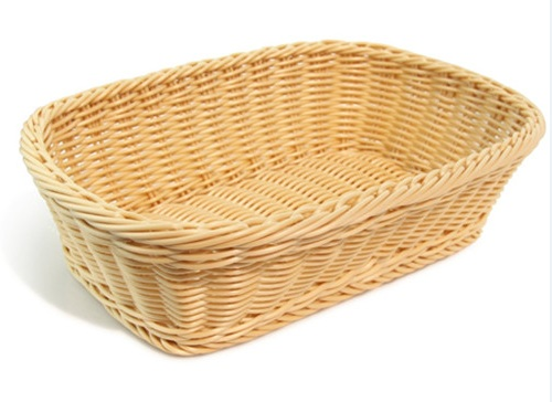 Wholesale Customized Pp Rattan Wicker Basket Manufacture With Lfgb Approved