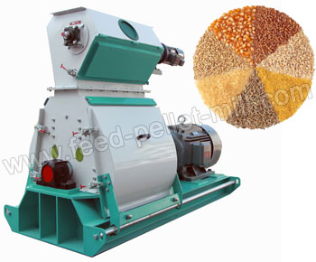Wide Chamber Feed Hammer Mill For Making Poultry And Aquatic Pellets