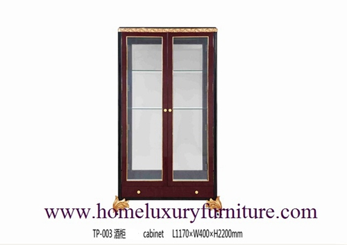 Wine Cabinet China Storage Wooden Dining Room Furniture Tp 003