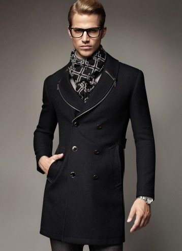 Winter Jacket Men S Wool Coat Cashmere