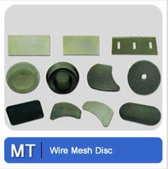 Wire Mesh Disc Metal Tec