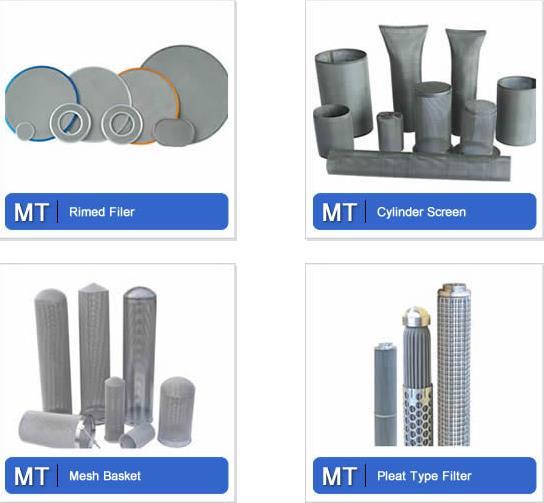 Wire Mesh Filter Metal Tec