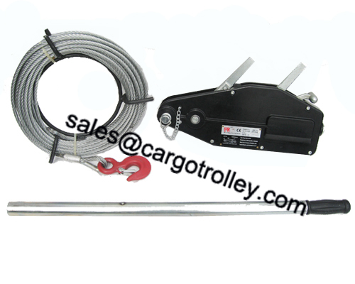 Wire Rope Pulling Hoist Instruction And Price