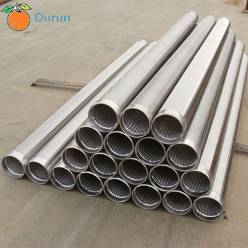 Wire Screen For Api Petroleum Well Casing Pipe