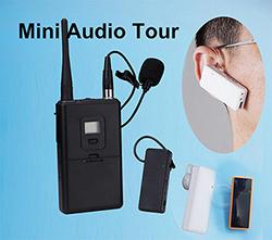 Wireless 2 4g Digital Mini Ear Hook Audio Receiver Communication Listening