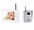 Wireless 7 Inch Video Door Phone Maker 2 4ghz Digital Audio Recording 300m Distance
