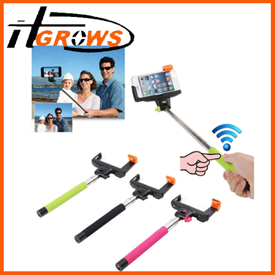 Wireless Bluetooth Mobile Phone Monopod For Ios Android