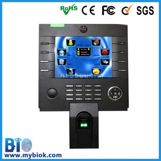With Touch Screen And Camera Fingerprint Reader Writer Attendance Machine Hf Iclock3500