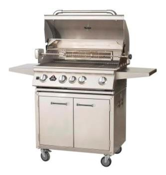 Wl107 Wilsan 4b Gas Grill Luxury Model