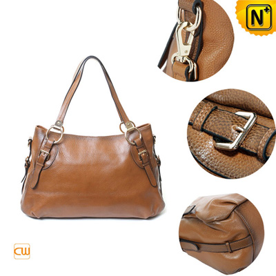 Women S Classic Genuine Cowhide Leather Shoulder Handbag