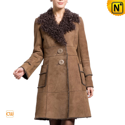 Women S Leather Coat Warm Winter Real Lamb Fur