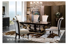 Wood Furniture Dining Table And Chairs Room Italy Style Tn005m