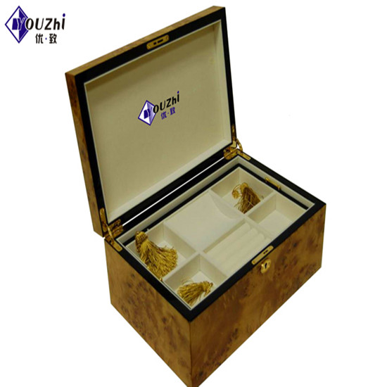 Wood Gift Box For Jewelry Packing