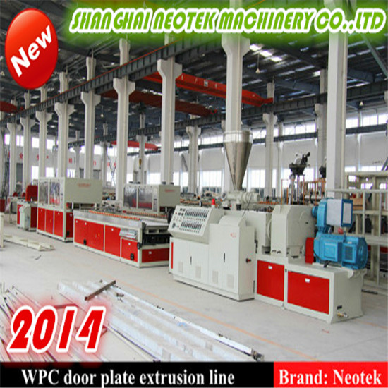 Wood Plastic 65288 Pvc Based 65289 Door Plate Extrusion Line