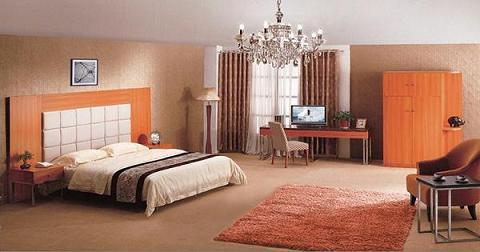 Wooden Bedroom Fitment Furniture