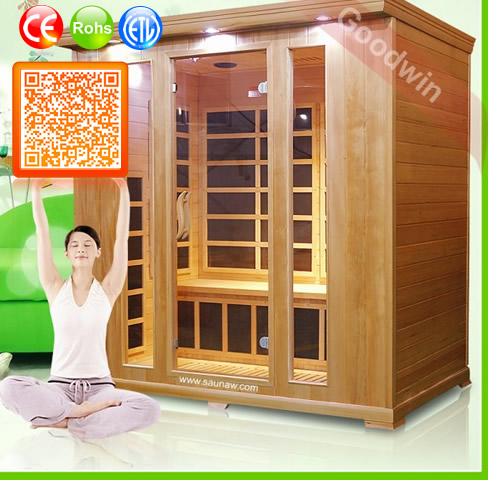 Wooden Infrared Sauna Cabin Ozone