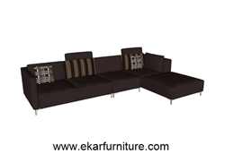 Wooden Sofa Sets Modern Sectional Yx283