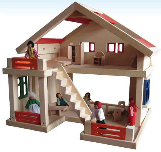 Wooden Toy House For Children