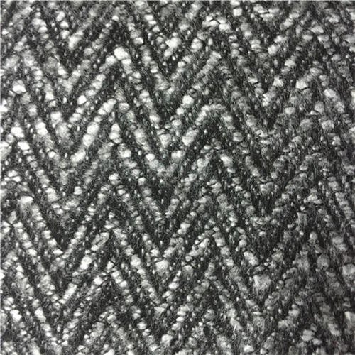 Wool Blended Fabric Herringbone