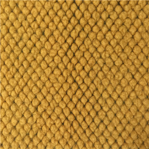 Wool Blended Fabric Knit Jacquard
