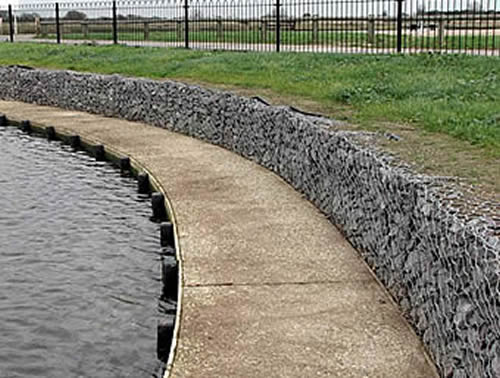 Woven Gabion Suitable For Any Foundation Condition