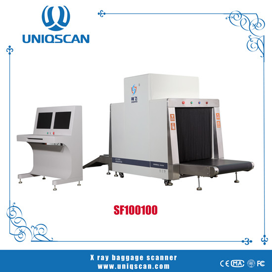 X Ray Luggage Scanner Machine With International Standards Sf100100