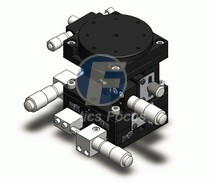 X Stage Linear Translation Table Rotary Rotation Vertical Lab Jack Xyz