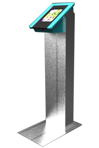 X4 Stainless Steel Ipad Kiosk