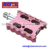Xd Pd R12 Lightweight Aluminum Alloy Road City Bike Flat Pedals Pink Color