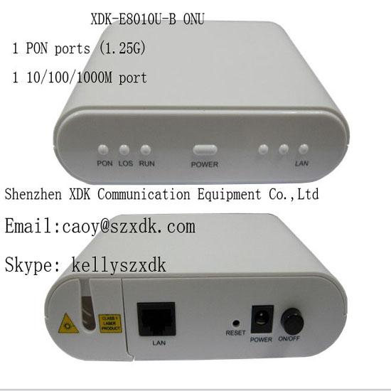 Xdk E8010u B Onu Ftth Fttx Epon Gepon 1g Olt Media Converter Fiber Optic