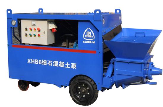 Xhb6 Small Fine Concrete Pump