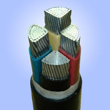 Xlpe Armoured Power Cable Aluminum Yjlv22 4 25mm