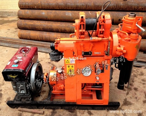 Xy 1a Well Drill Rigs 150m Core Drilling Machine
