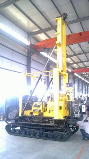 Xyd 130 Crawler Mounted Water Well Drilling Rig