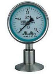 Y 100bfz Z Mc Sanitary Diaphragm Pressure Gauge