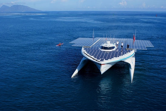 Yacht Solar Power System