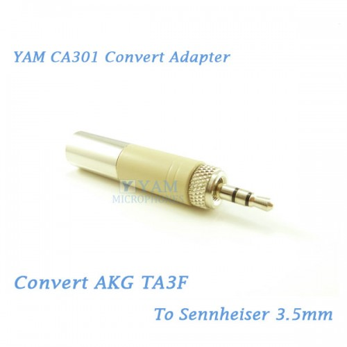 Yam Ca301 Convert Akg Ta3f To Sennheiser 3 5mm Wireless Bodypack Transmitter