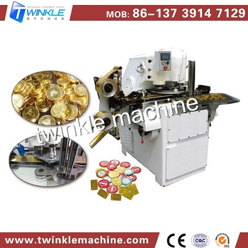 Yb 900 Coin Chocolate Packing Machine