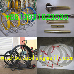 Yellow Duct Snake Non Conductive Rodders Fibersnake