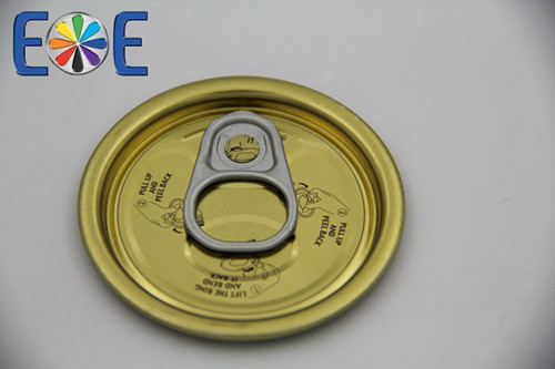 Yemen 202 52mm Tinplate Fish Paste Can Easy Open Lid Maker