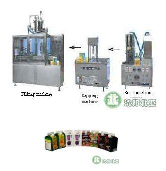 Yogurt Gable Top Carton Filling Machine Capping Systems Bw 1000 3
