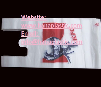 Ype T Shirt Bag Material Hdpe Ldpe Adding Oxo Biodegradable D2w Epi And P Life Size Custom